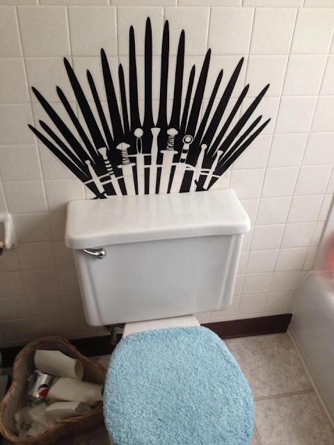 trono de hierro wc - Juego de Tronos en los siete reinos