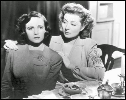 Teresa Wright y Greer Garson en La señora Miniver