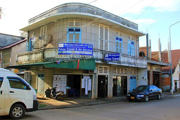 Agencia de viajes Pakse Travel - Laos