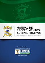 Manual de Procedimentos Administrativos já está online