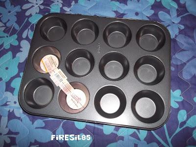 muffin con cocco e fragole