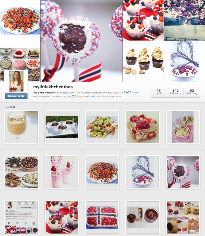 My Little Kitchen på Instagram