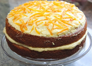 MARY BERRY WHOLE ORANGE CAKE