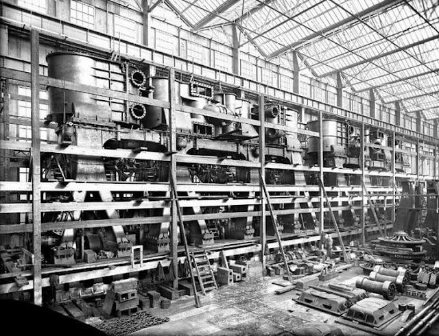 Grandes estructuras históricas en construcción Fotograf%25C3%25ADas+de+la+construcci%25C3%25B3n+del+Titanic+15