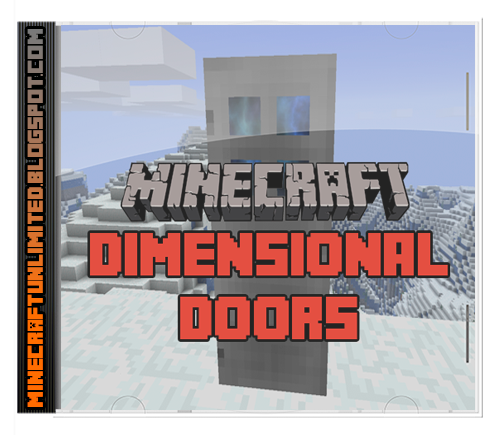 Dimensional Doors Mod cover