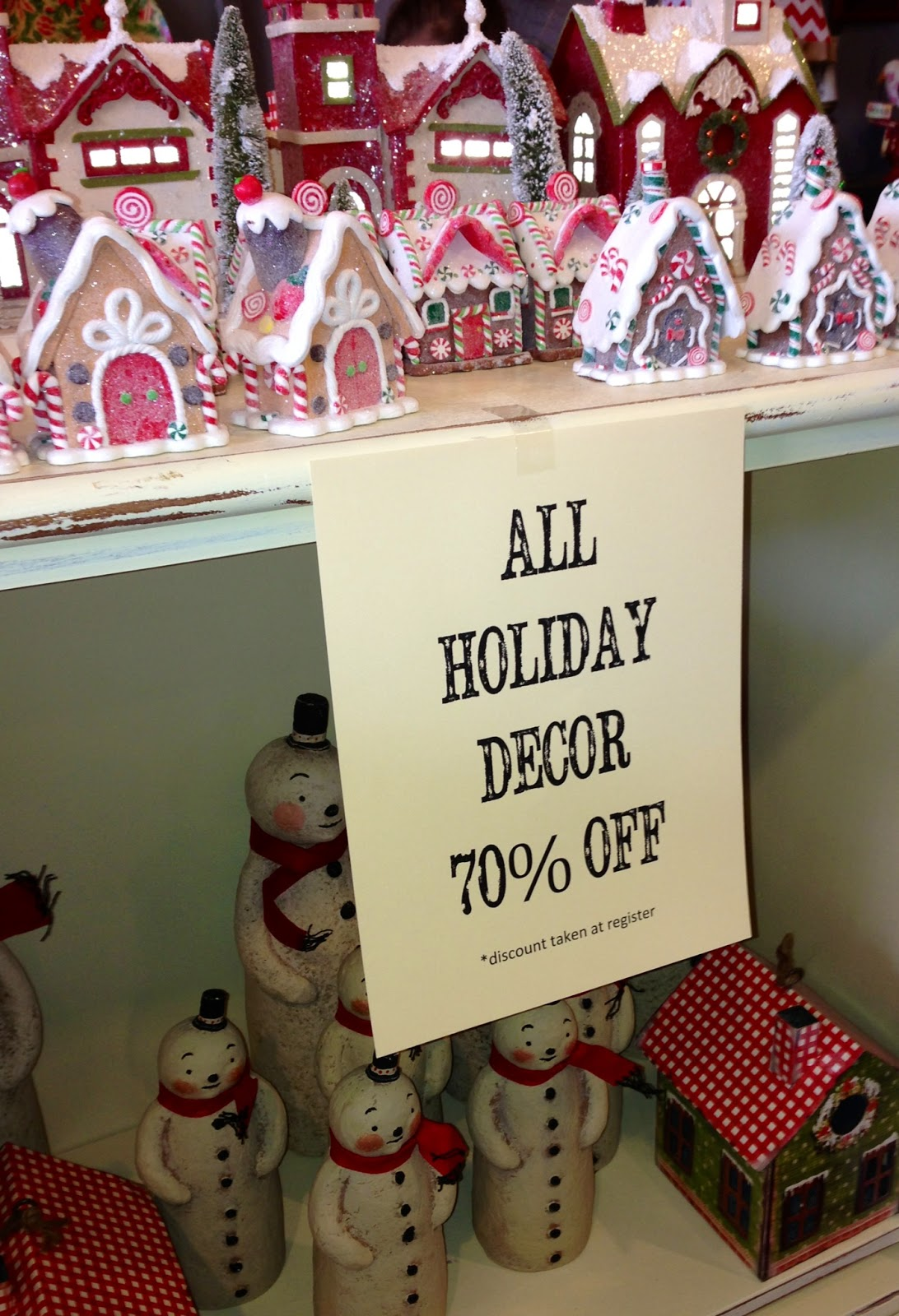 The Daily Uptown Country Holiday Hours 70 Off Xmas Decor