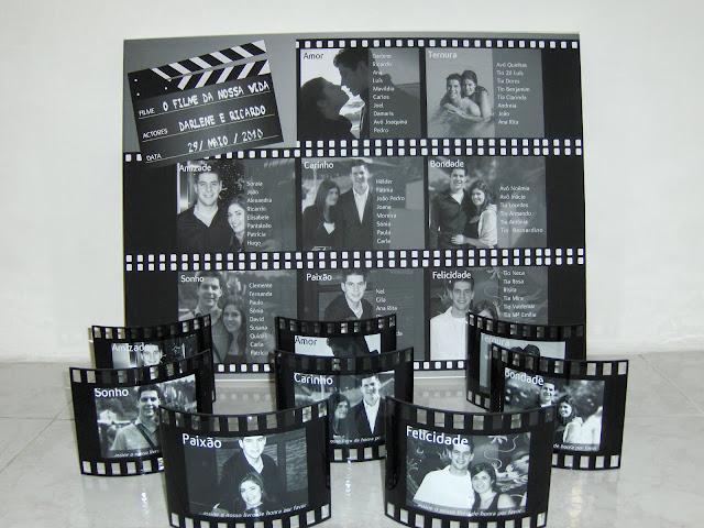decoracao casamento tema cinema:Noiva Plugada: Casamento no Cinema