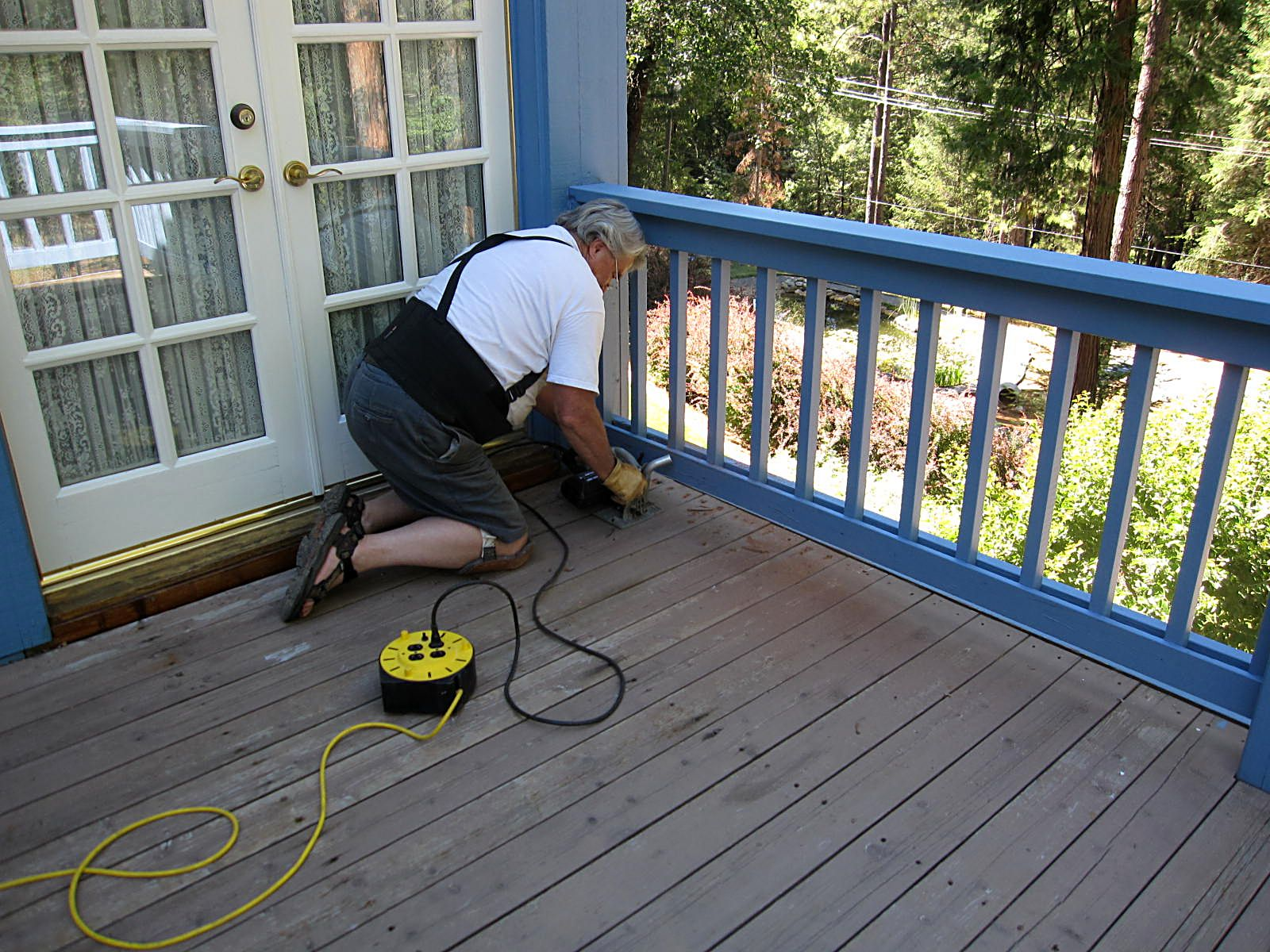 Createology Removing Old Deck
