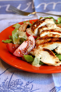 Grilled Chicken Caesar Salad Nutrition Information and Recipe