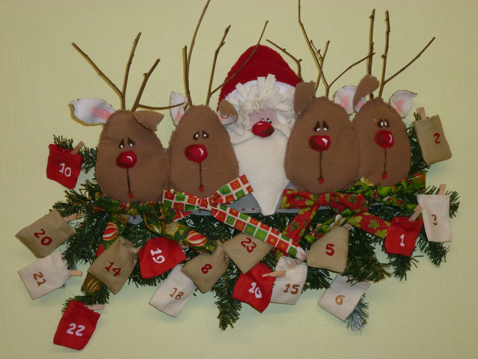 calendrier de lavent bricolage renne — experience conseil