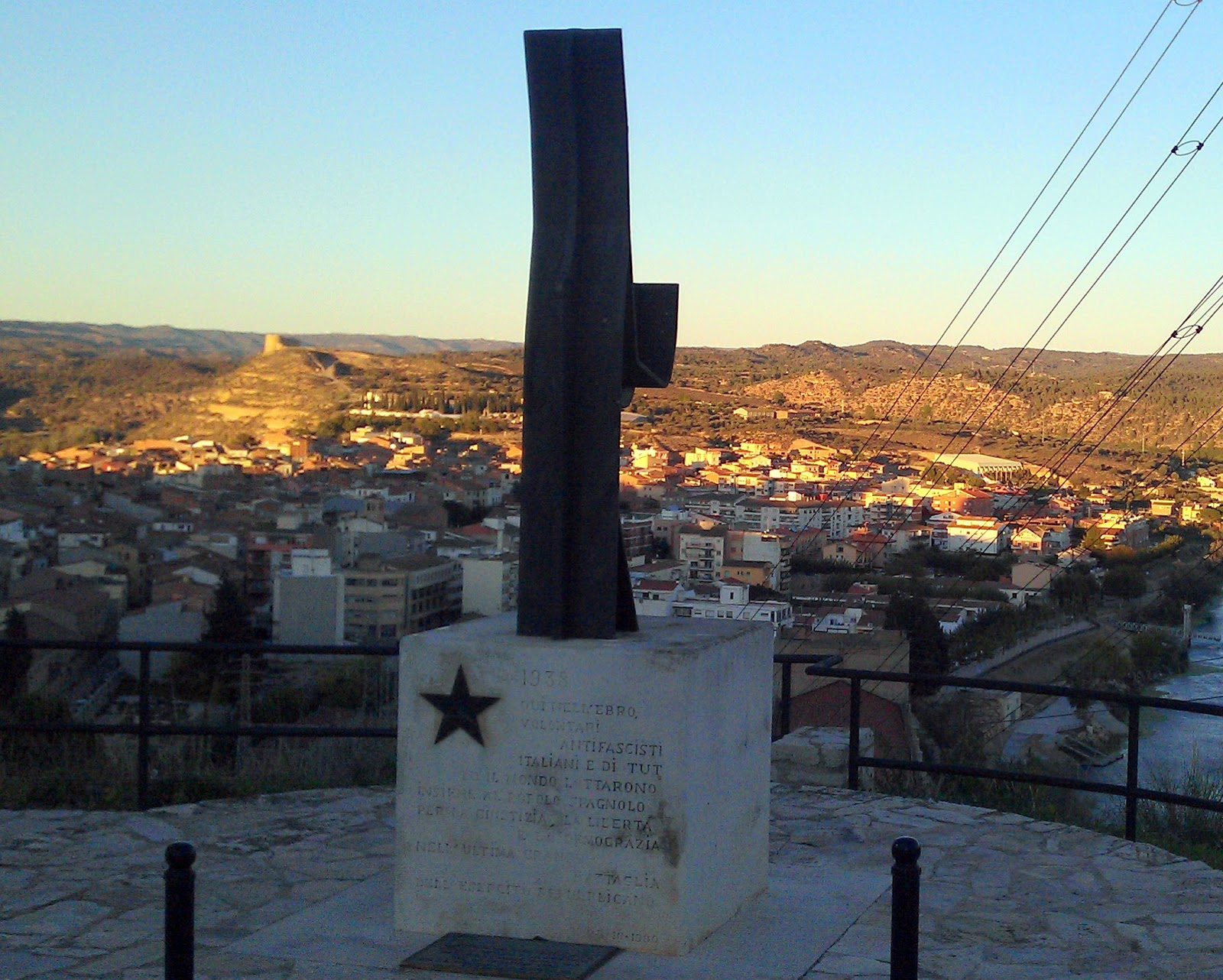 Monument als Brigadistes internacionals.