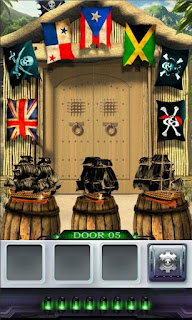 Screenshots of the 100 Doors 3 for Android tablet, phone.