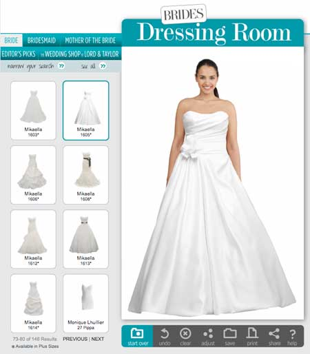 Rae Affairs Wedding Planner Try On Wedding Dresses Online