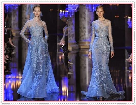 Elie Saab Herbst/Winter Cauture Kollektion 2014/2015