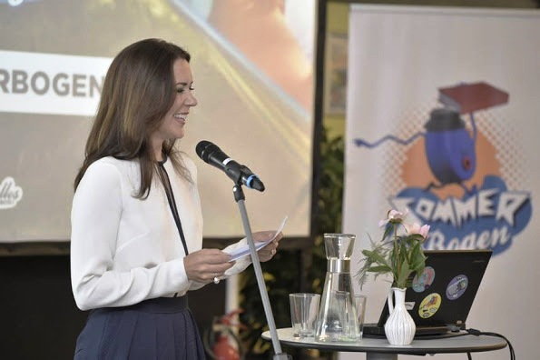 Princess Mary Attended The Opening Of Sommerbogen 2015 In Odense