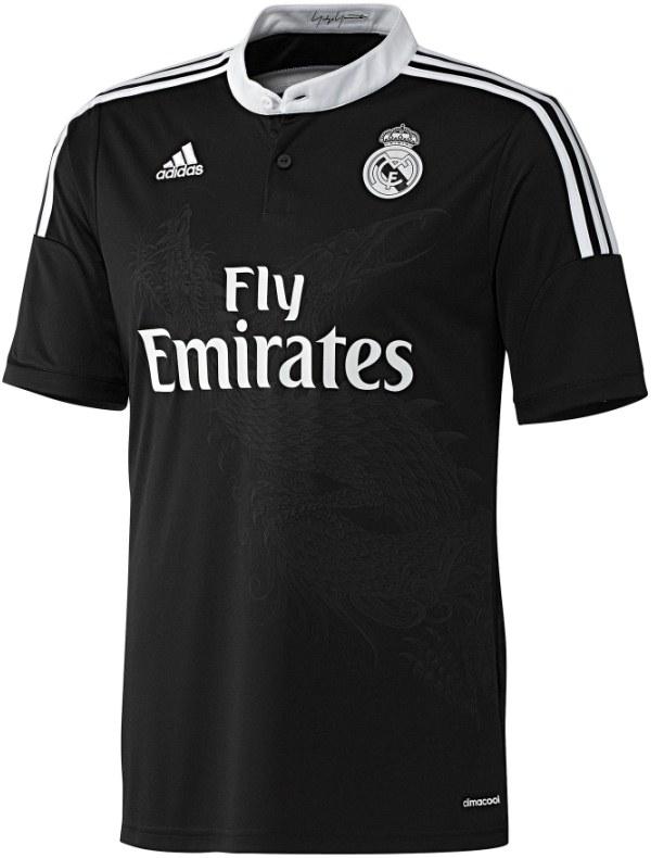 Jersey Naga Real Madrid