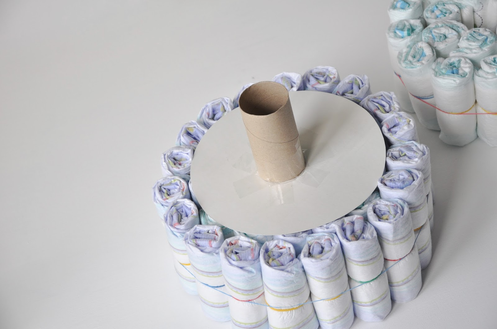 Baby Saucer Chair pippa's long stockings: Make your own nappy cake {tutorial}