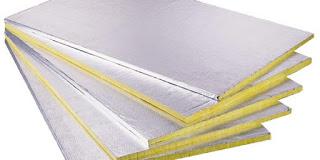 Isıtıcı arkasında kullanılan yansıtıcı paneller