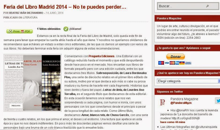 http://www.pandora-magazine.com/literatura/feria-del-libro-madrid-2014-no-te-puedes-perder/