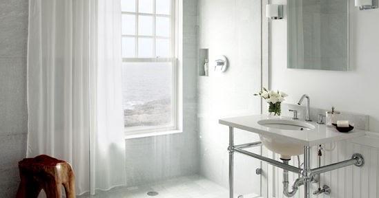 Guida tende tenda leggera per il bagno moderno - Punto bagno treviso ...