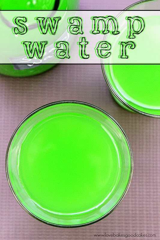 Dig Pinterest: Swamp Water Halloween Drink