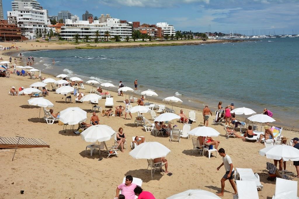 Punta del Este beach
