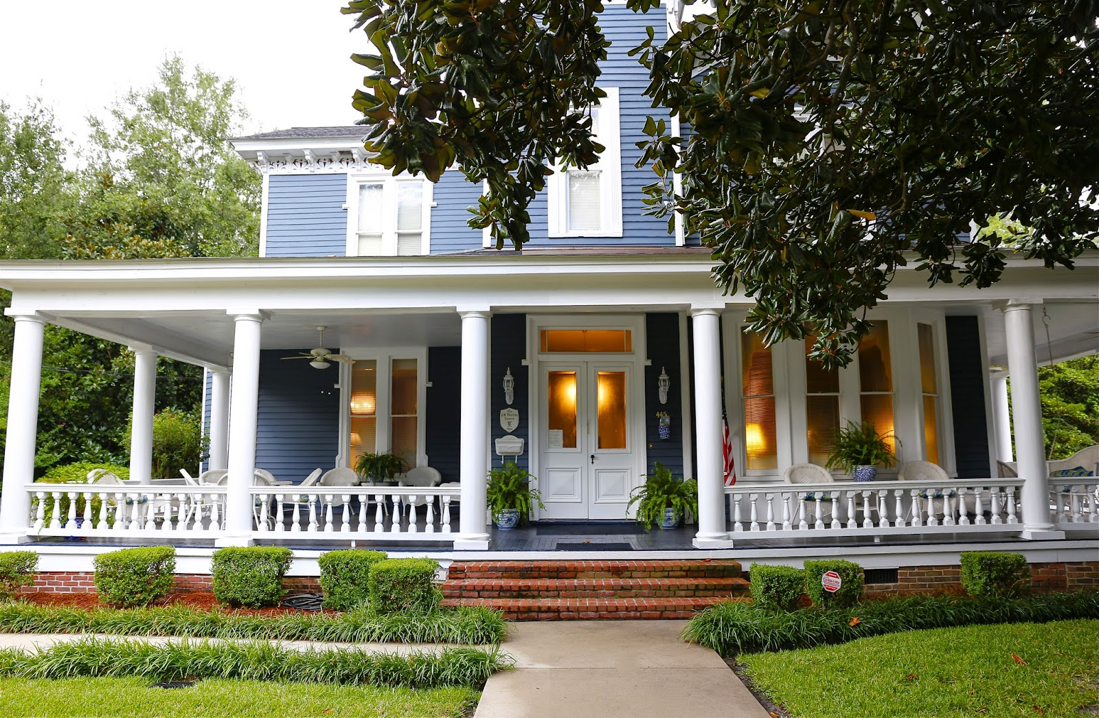 Sweet southern days historic homes in thomasville georgia for South georgia home builders