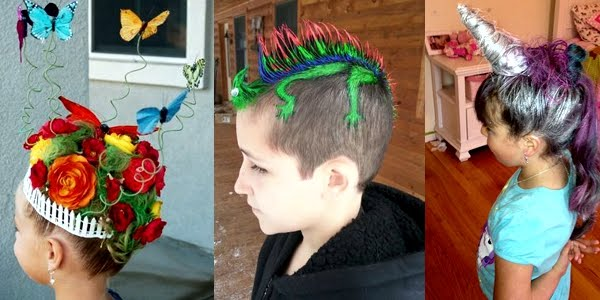 Crazy Hair Day at School - Funny and Creative Ideas!!! - OMG Love ...