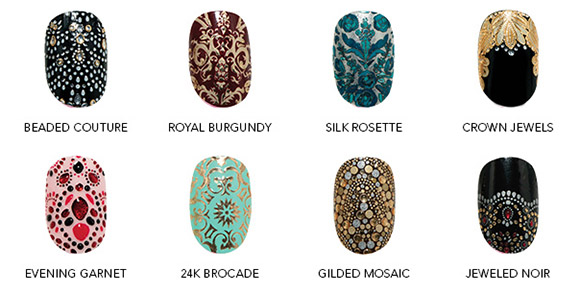 Revlon by Marchesa Nail Art 3D Jewel Appliqués