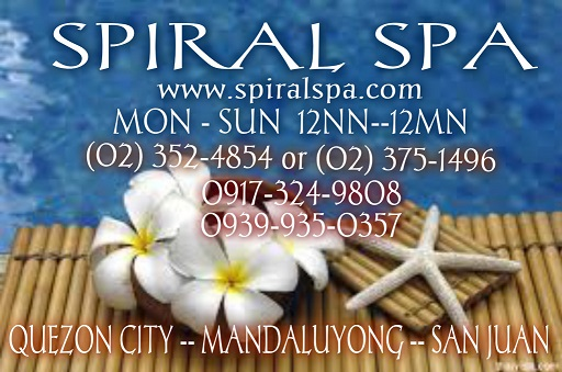 Spiral Spa Home Service Massage