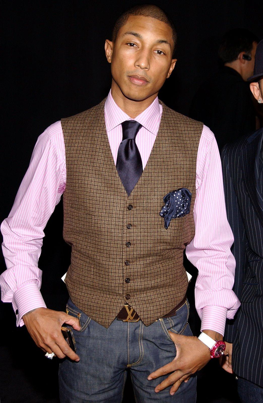 casual dress jackets for men Por último les dejo una foto de la marca de ropa de Pharrell ( http
