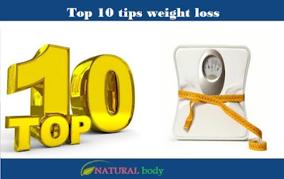 Top 10 tips weight loss