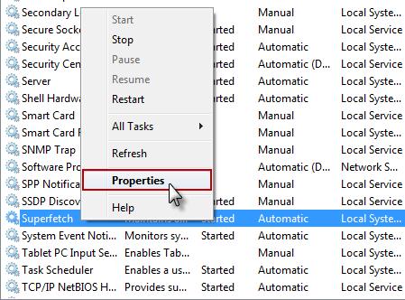 SuperFetch Cara Mencegah Penggunaan Memori Berlebih Pada Windows 7