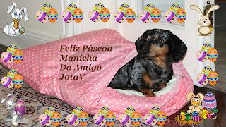 Feliz Páscoa Manicha