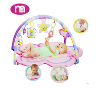 New Mothercare Pretty in Pink Super Play Gym,Big Sale RM100 only!!!