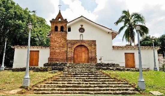 Iglesia de San Antonio, Santiago de Cali, Colombia. De estilo Barroco