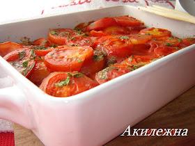 Кюфта с картофелем и помидорами