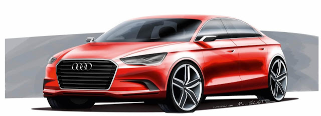 New Audi A3 Concept to be unveiled in Geneva Motor Show