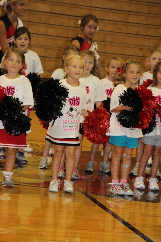 Mcclendon Party Of Five Mini Cheer Camp