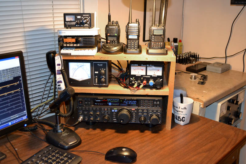 Rusk County Amateur Radio Club Featured Shack Nu5g Jon