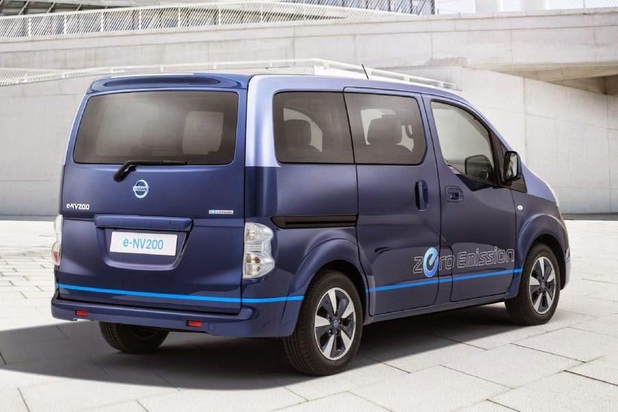 Nissan e-NV200 VIP Concept (2014) Rear Side