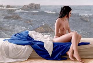 Mujeres Desnudas Cuadros Marinos