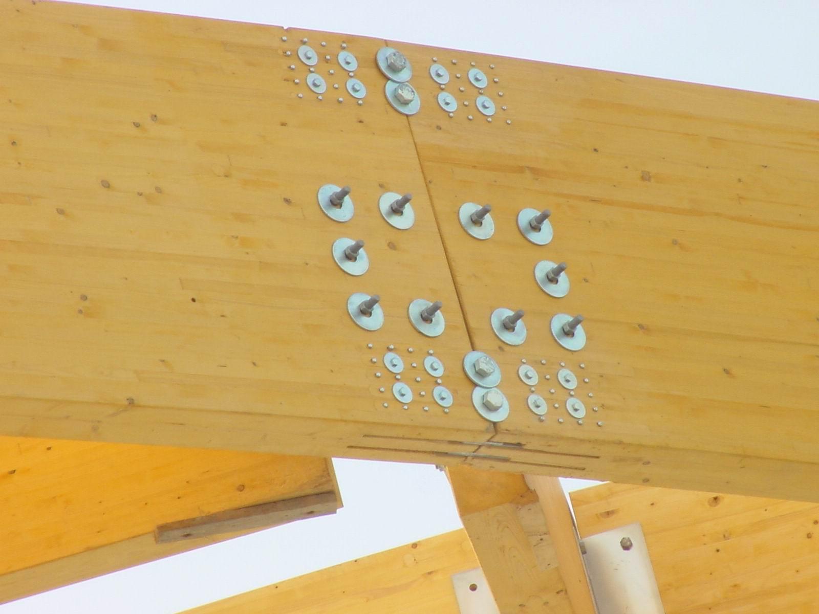 Aitim informa fallo en la clave de una estructura de - Estructura madera laminada ...