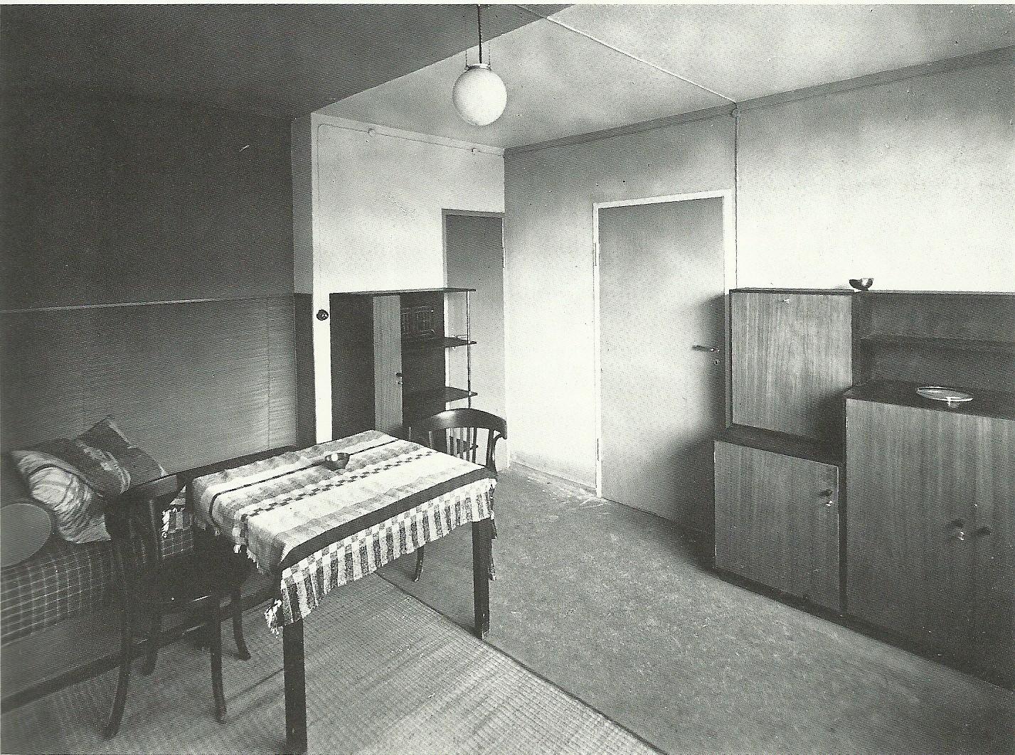 Historia de la arquitectura moderna barrio t rten 1923 for Bauhaus arredamento