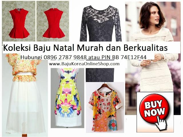 model baju natal wanita bd727a9282