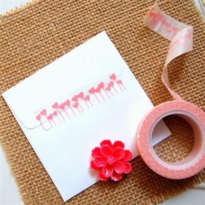 heart washi tape at CoolPencilCase.com