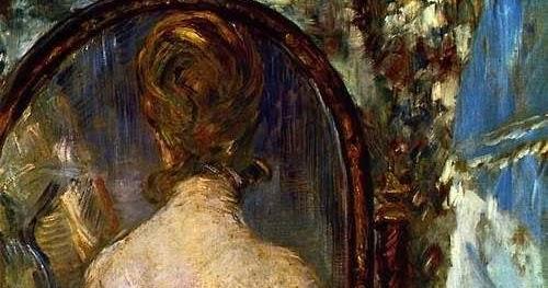 Parcours nana influence de la peinture impressionniste for Devant le miroir manet