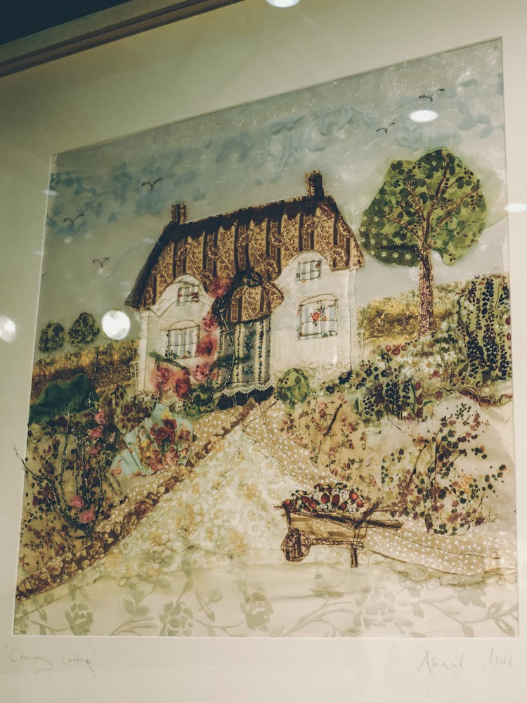 A handmade cottage: The knitting and stitching show at alexandra palace