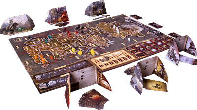 A Game of Thrones the board game review setup