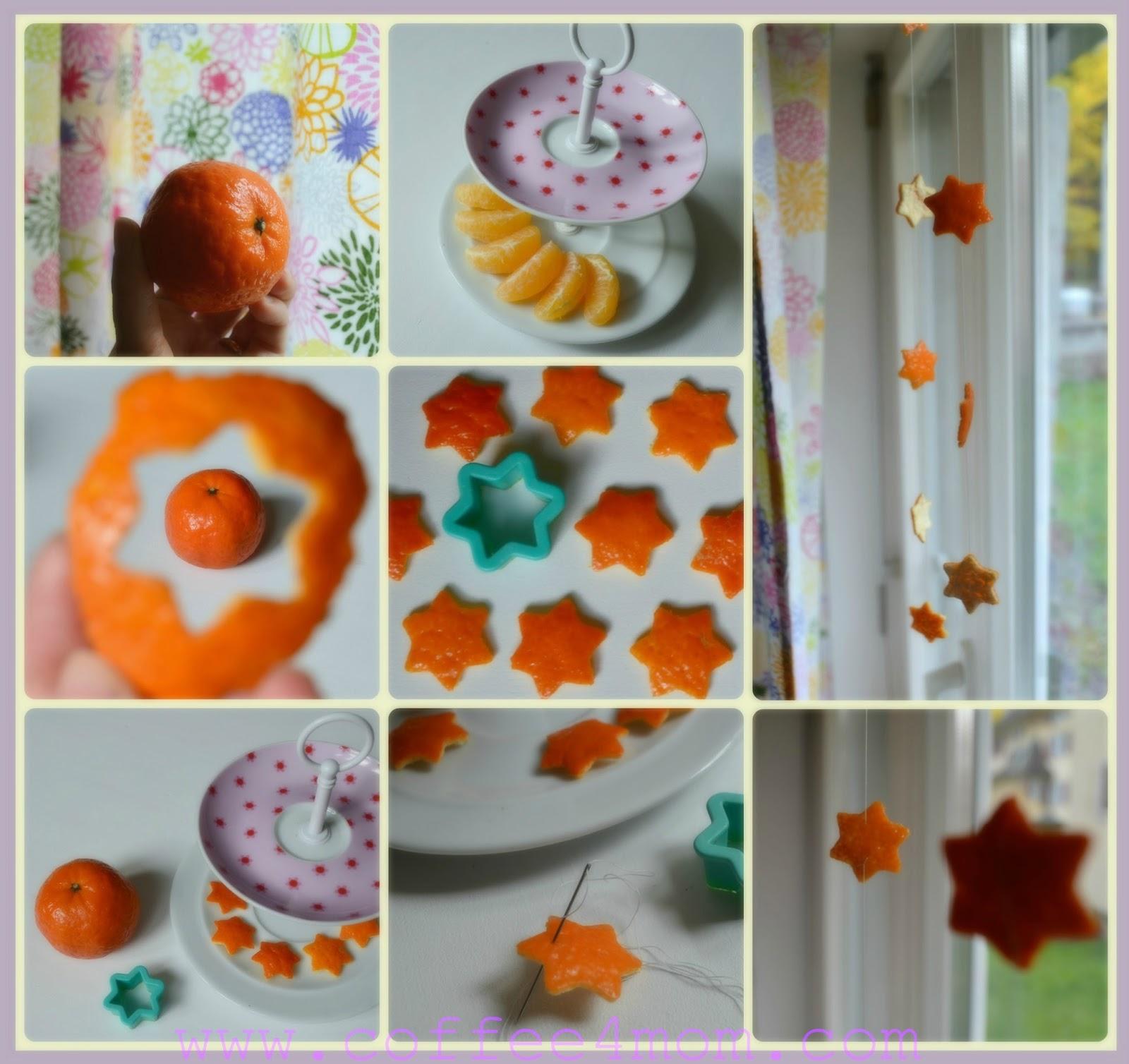 Coffee4mom le bucce dei mandarini ricicliamo facile e - Finestre usate in regalo ...